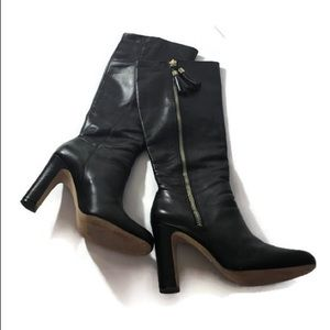 Louise et Cie Tall Lo-Zavia Sz 8.5 Leather Boots